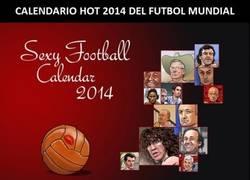 Enlace a Calendario HOT 2014 de Fútbol Mundial