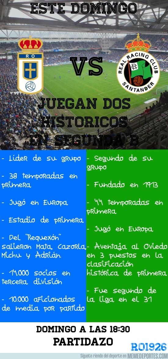 202416 - Real Oviedo - Racing de Santander // Partidazo en Segunda B