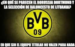 Enlace a ¿En qué se parecen el Borussia Dortmund y la selección de baloncesto de lituania?