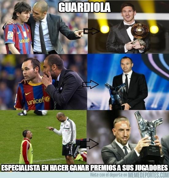 202707 - CR7, vete con Guardiola para ganar premios individuales