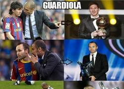 Enlace a CR7, vete con Guardiola para ganar premios individuales
