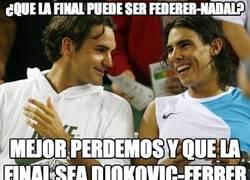 Enlace a ¿Que la final puede ser Federer-Nadal?