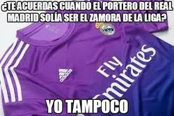 Enlace a ¿Te acuerdas cuando el portero del Real Madrid solía ser el zamora de la liga?