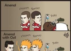 Enlace a Los poderes que da Özil al Arsenal