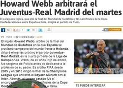 Enlace a Howard Webb arbitrará el Juventus-Real Madrid