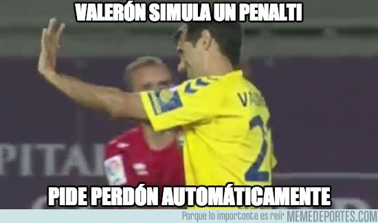 203687 - Valerón simula un penalti
