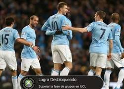 Enlace a Manchester City a octavos