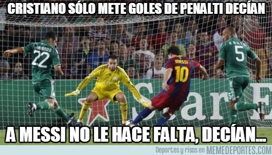 204662 - Cristiano sólo mete goles de penalti decían