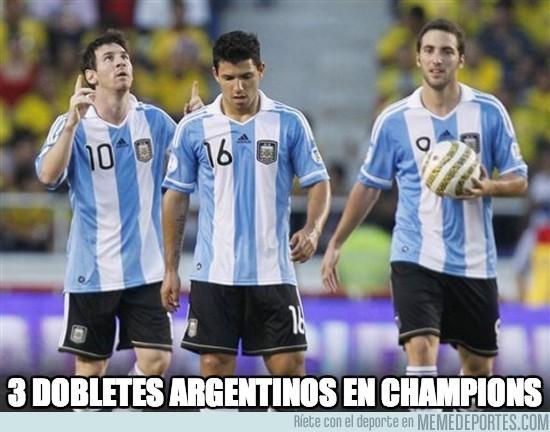 204851 - Los argentinos han goleado por doble esta jornada