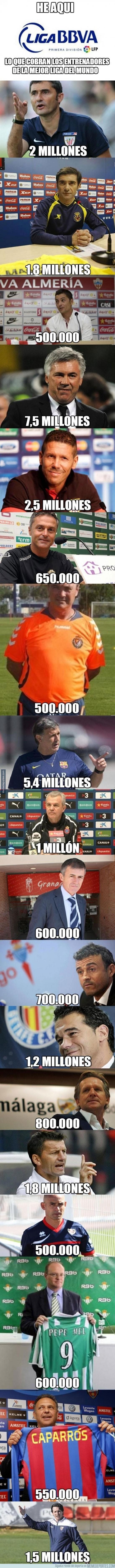 204938 - El sueldo de los entrenadores de la Liga BBVA. Gente pobre inside