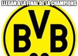 Enlace a Llegan a la final de la Champions