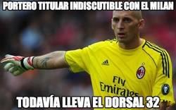 Enlace a Portero titular indiscutible con el Milan