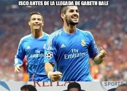 Enlace a Isco antes de la llegada de Gareth Bale