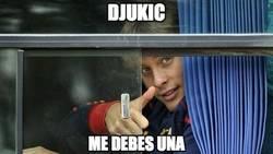 Enlace a Canales le salva el culo a Djukic en la Europa League