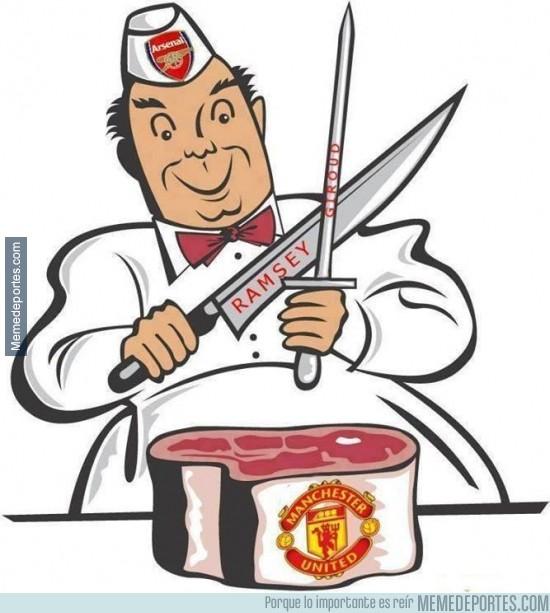 205556 - El Arsenal preparando el partido ante el Manchester United