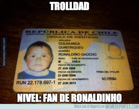 205637 - Padres fans de Ronaldinho