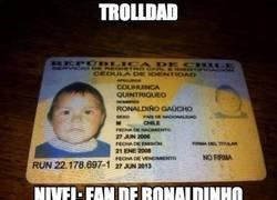 Enlace a Padres fans de Ronaldinho