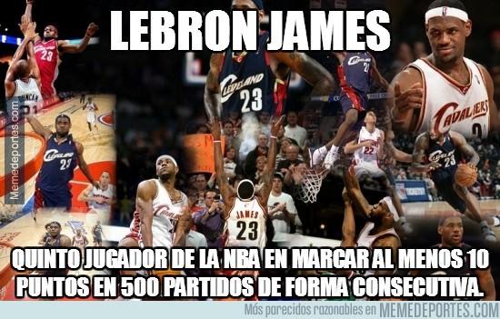 205827 - LeBron James, récord estratosférico