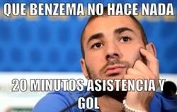 Enlace a La buena racha de Benzema