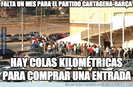 206270 - Falta un mes para el partido Cartagena-Barça