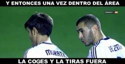 Enlace a Benzema adoctrinando a Morata