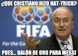 Enlace a ¿Que Cristiano hizo hat-trick?