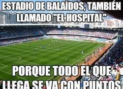 Enlace a Estadio de Balaídos, también llamado 'El hospital'