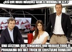 Enlace a ¿Así que Marc Márquez gana el mundial de G.P.?