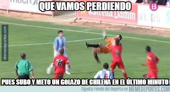 207193 - ¿Los delanteros no saben marcar chilenas?