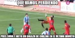 Enlace a ¿Los delanteros no saben marcar chilenas?