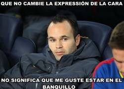 Enlace a ¿Iniesta banquillo?