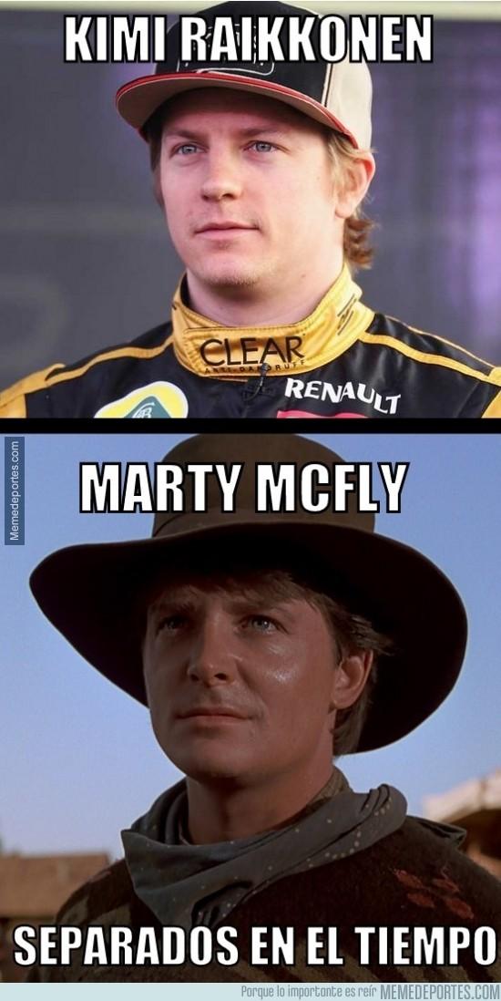 207931 - Kimi Raikkonen y Marty McFly