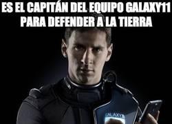 Enlace a Es el capitán del equipo Galaxy11