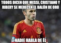 Enlace a Todos dicen que Messi, Cristiano y Ribery se merecen el balón de oro