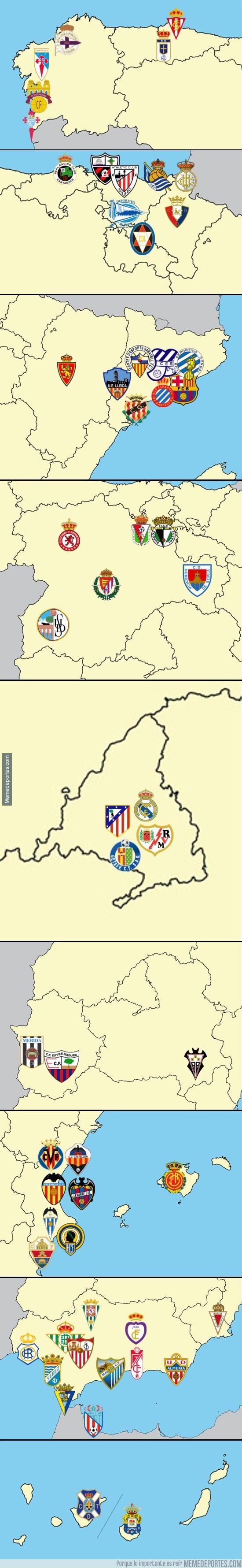 208061 - Equipos que han militado al menos una vez en Primera División Española, ¿está tu ciudad?