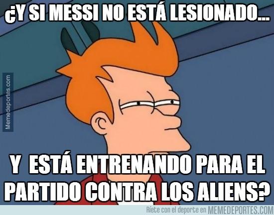 208235 - ¿Y si Messi no está lesionado...