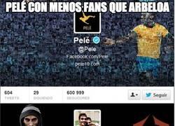Enlace a Pelé con menos fans que Arbeloa