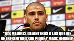 Enlace a ¿Sabes quiénes son les delanteros a los que más teme Valdés?