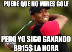 Enlace a Puede que no mires golf