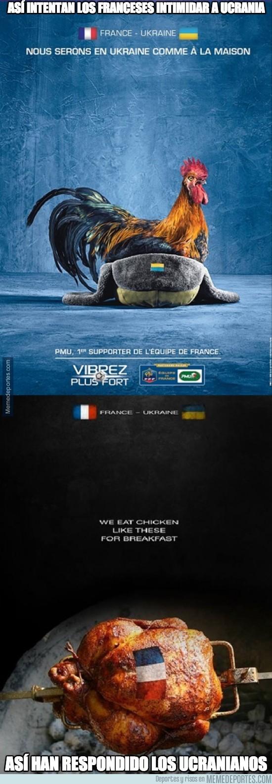 209862 - De esta manera los franceses trataron de intimidar a Ucrania