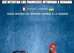 Enlace a De esta manera los franceses trataron de intimidar a Ucrania