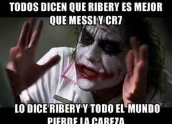 Enlace a ¿Entonces Ribery no puede decir nada?