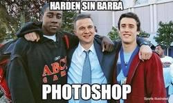 Enlace a Harden sin barba