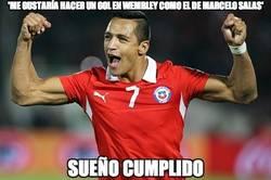 Enlace a 'Me gustaría hacer un gol en Wembley como el de Marcelo Salas'
