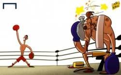 Enlace a Así fue el combate de Cristiano Ronaldo-Ibrahimovic