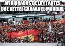 Enlace a Aficionados de la F1 antes de que Vettel ganara el mundial