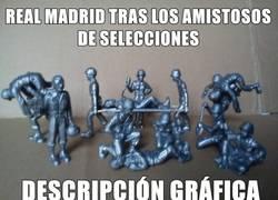 Enlace a Real Madrid tras los amistosos de selecciones
