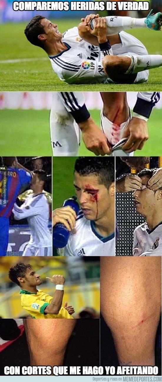 211262 - Comparemos heridas de verdad