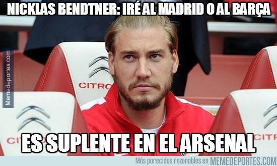 211531 - Nicklas Bendtner: Iré al Madrid o al Barça