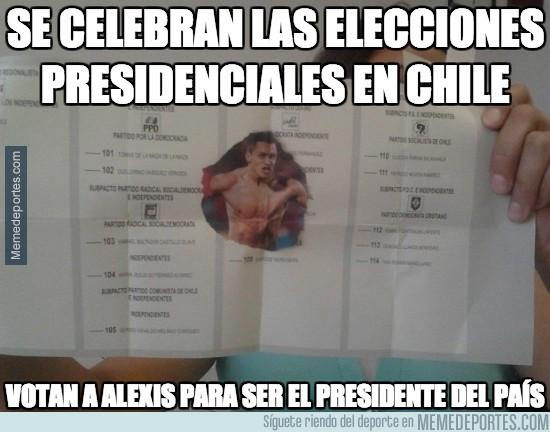 211657 - Se celebran las elecciones presidenciales en Chile